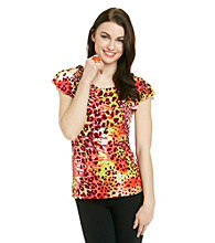 Anne Klein® Animal Print Top
