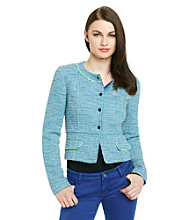 T Tahari® Willow Tweed Jacket
