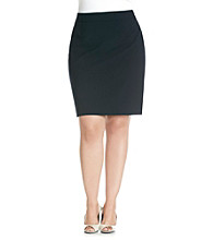 Calvin Klein Plus Size Solid Straight Skirt