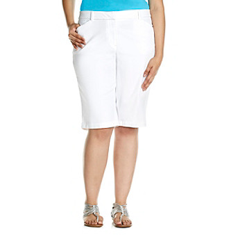 Jones New York Sport Plus Size Four Pocket Bermuda Short Women's plus size,  plus size fashion plus size appare