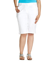 Jones New York Sport® Plus Size Four Pocket Bermuda Short