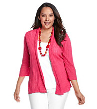 Notations® Plus Size Cardigan