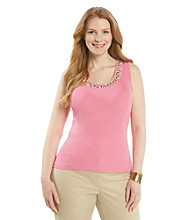 Ruby Rd.® Plus Size Sleeveless Shell
