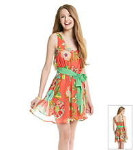 Chord® Juniors' Floral Print Dress
