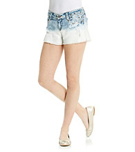 Wallflower Vintage® Juniors' Studded Dip Dye Short