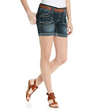 Wallflower Vintage® Juniors' Belted Short