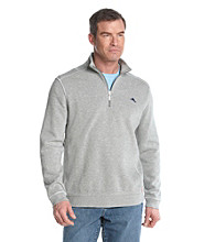 Tommy Bahama® Men's Hearher Gray Antigua Half Zip Sweatshirt