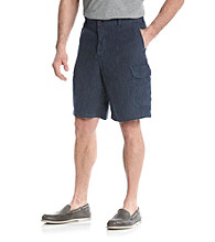 Tommy Bahama® Men's Indigo Pin It Stripe Cargo Shorts