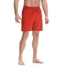 Tommy Bahama® Men's Certainly Red Happy Go Cargo Swim Trunks