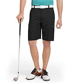 Izod® Men's Black Cargo Golf Shorts
