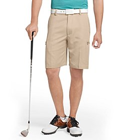Izod® Men's Khaki Cargo Golf Shorts