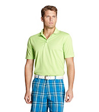 Izod® Men's Jade Lime Solid Grid Polo