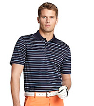 Izod® Men's Evening Blue Striped Polo