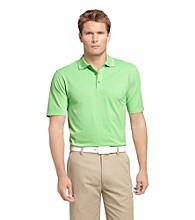 Izod® Men's Shamrock Green Solid Oxford Polo