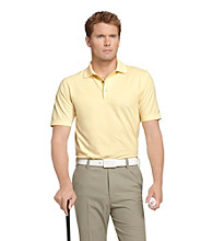Izod® Men's Yellow Sizzle Solid Oxford Polo