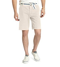 Izod® Men's Stone Dust Saltwater Flat Front Shorts