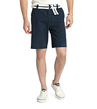 Izod® Men's Midnight Blue Saltwater Flat Front Shorts
