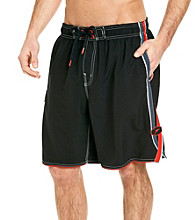 Speedo® Men's Black Windward Volley Swim Short