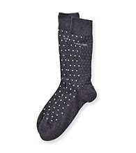 Calvin Klein Men's Split Dot Crew Sock