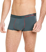 Calvin Klein Men's Grey Pro Stretch Reflex Low Rise Trunk