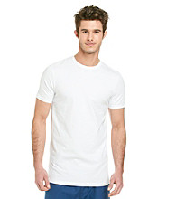 Jockey® Men's White Cotton Stretch Slim Fit 2-Pack Crew