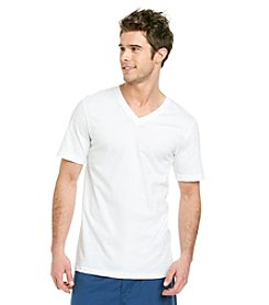 Jockey® Men's White Classic Tall Man 2-Pack V-Neck