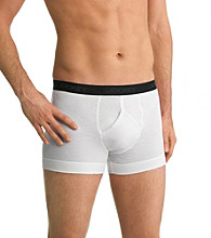 Jockey® Men's White Big & Tall Stay Cool 2-Pack Boxer Brief