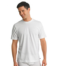 Jockey® Men's White Big & Tall Stay Cool 2-Pack Crew