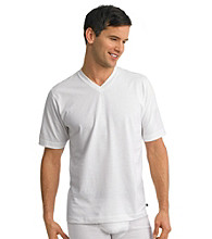 Jockey® Men's White Big & Tall Stay Cool 2-Pack V-Neck