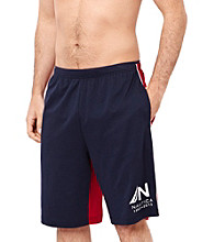 Nautica® Men's Maritime Navy Colorblock Knit Sleep Short