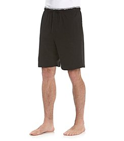 Nautica® Men's Anthracite Black Anchor Knit Sleep Short