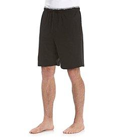 Nautica® Men's Anthracite Black Anchor Knit Sleep Short