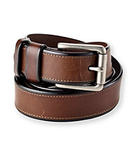 Fossil® Men's Brown Fitz Leather Belt