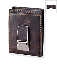 Fossil® Men's Brown Norton Leather Wallet