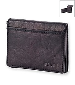 Fossil® Men's Ingram Leather Flip Trifold Wallet