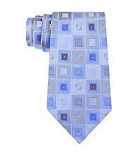 Kenneth Cole REACTION® Men's Blue Bosco Geo Silk Tie