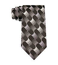Van Heusen® Men's Black Liberty Geo Silk Tie