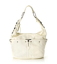 GAL Washed Mini Croc Hobo