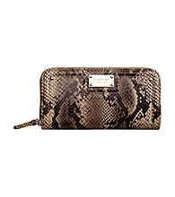 Nine West® Table Treasures Zip Around Wallet - Natural
