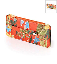 Relativity® Slim Organizer - Orange Tropical Floral