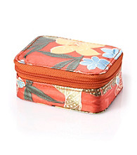 Relativity® Pill Case - Orange Tropical Floral