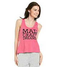 Steve Madden Mad Crazy Dreams Tank - Pink