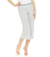 Steve Madden Knit Capris - Heather Grey
