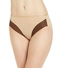 Naomi and Nicole® Tonal Hi-Cut Brief