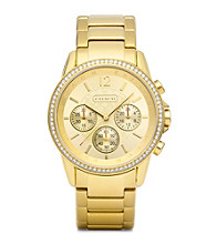 COACH GOLD CLASSIC SIGNATURE SPORT BRACELET WATCH