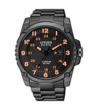 Citizen® Black Men's Super Titanium Eco-Drive Watch