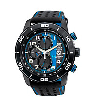 Citizen® Black with Blue Men's Adrenaline Eco-Drive Watch