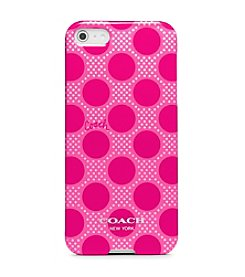 COACH POLKA DOT IPHONE 5 CASE