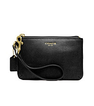 COACH SAFFIANO LEATHER SMALL WRISTLET