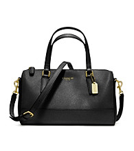 COACH SAFFIANO LEATHER MINI SATCHEL